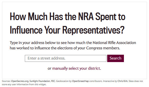 NRA-InfluenceBuying