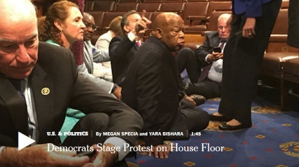 Dems-Sit-In